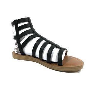 7b0a11bbcf76 Women s Triton Gladiator Black   Brown Sandals